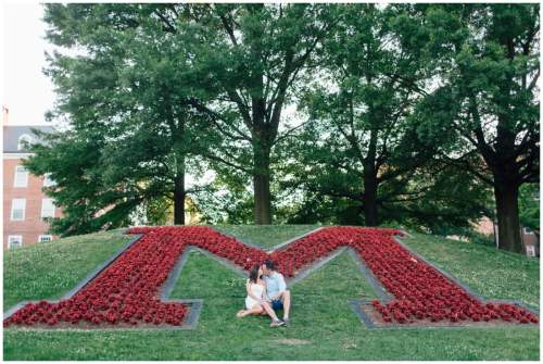 university of maryland engagement session