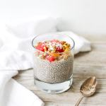 This easy vegan/gluten-free Vanilla Chia Pudding makes a healthy and delicious snack or quick breakfast.