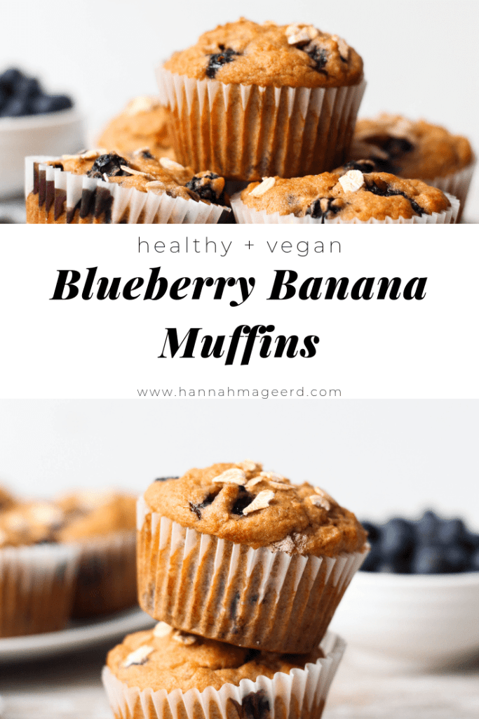 I've got your new favourite vegan blueberry muffins recipe right here!