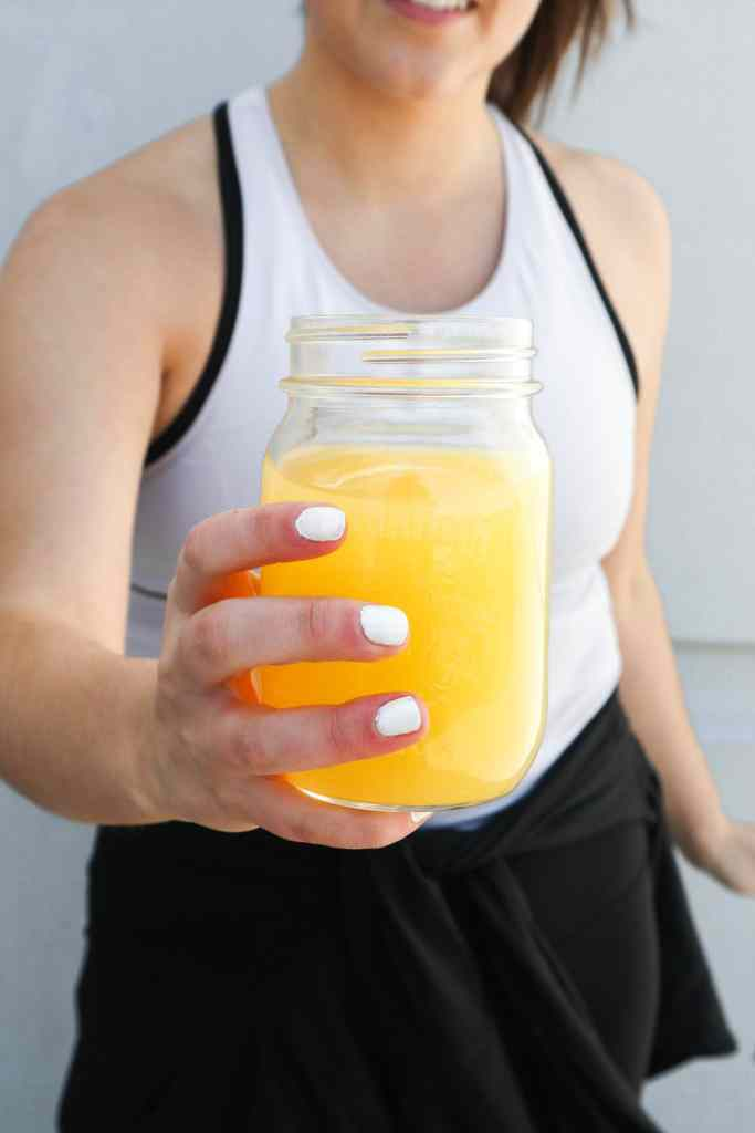 A dietitian's homemade sports drink recipe!