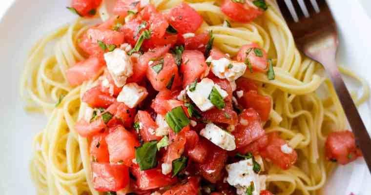 Tomato Basil Pasta