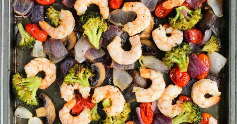 Sheet Pan Shrimp and Vegetables