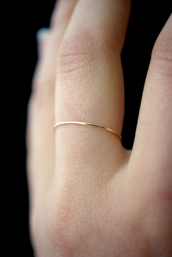 ultra thin gold smooth
