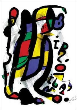 Joan Miro, Milano, 1981