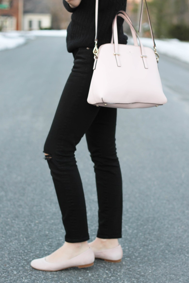 All Black and a Pop of Pink | Hannah Shanae