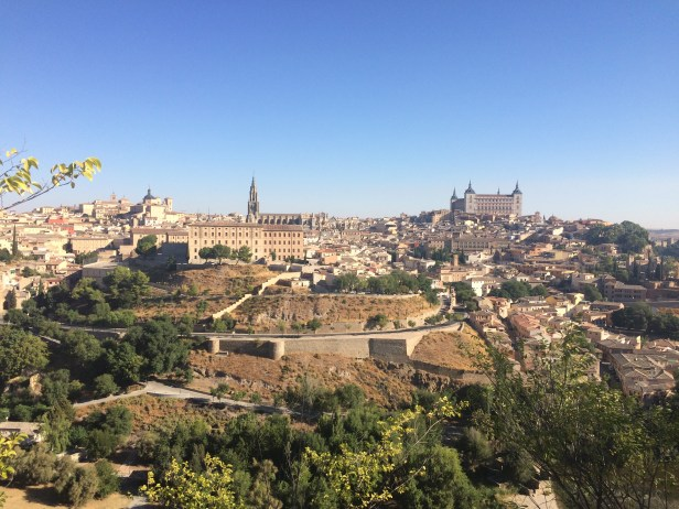 View of the old city of Toledo