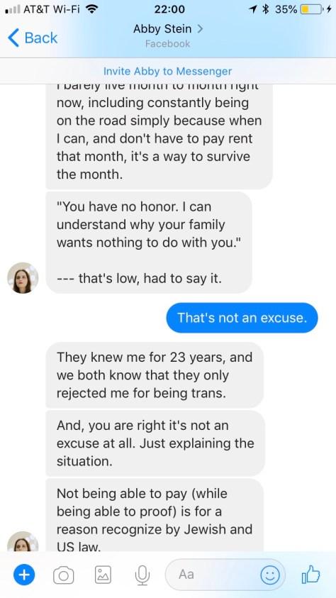 Abby Stein transgender fraud