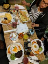Our delicious breakfasts!