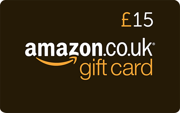 Competition Win An Amazon 15 Gift Voucher