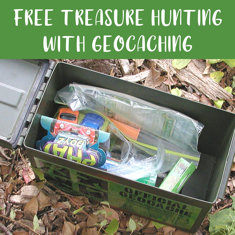 Free Treasure Geocaching