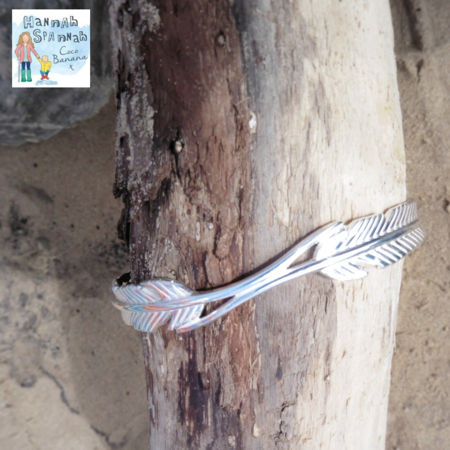 win a feather ring FIYAH bracelet