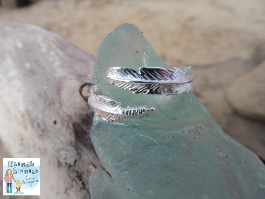 Fiyah win a Feather ring
