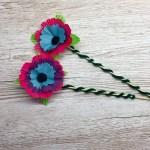 How to make beautiful craft poppy flowers