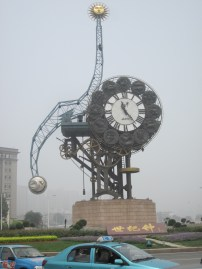A clock tower in Tianjin (by Hannah Lund)