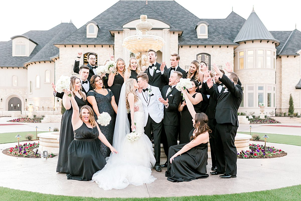 Hannah Way Photography, luxury wedding, luxury wedding photographer, dfw wedding photographer, knotting hill place, bridal party