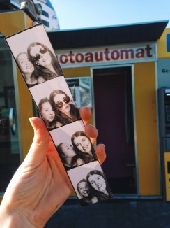 Fotoautomats are everywhere in the city