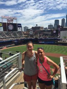 My first Twins game!