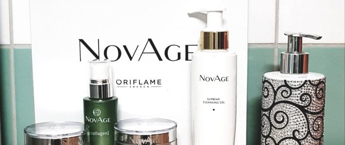 Testissä NovAge Ecollagen -ihonhoitosetti. Ensimmäisen viikon mietteitä.