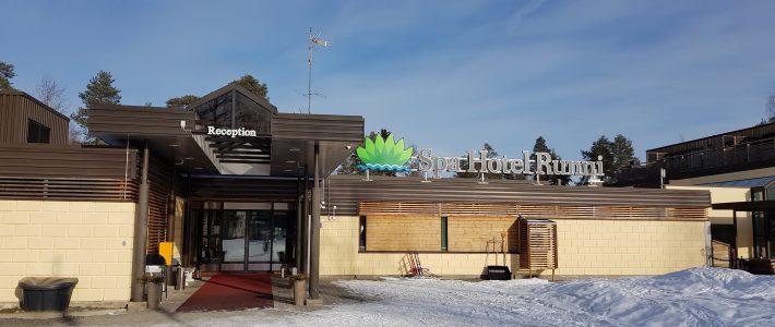 Irtiotto arjesta, nauttien luonnon läheisyydestä ja viihdetarjonnasta. Spa Hotel Runni.