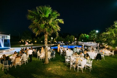 modern luxury wedding in Chania, Crete