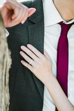 elopement session in greek islands