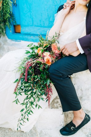 beautiful summer wedding in Mykonos