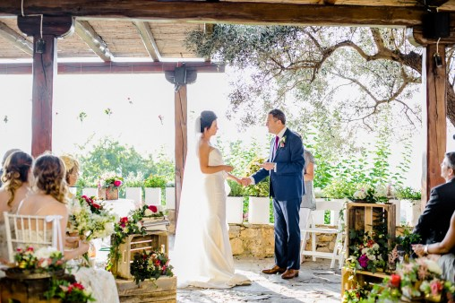 Soaringly Georgeous Wedding in Cretan Province_0051