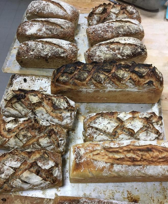 Härlig tisdagsmorgon med nybakat bröd