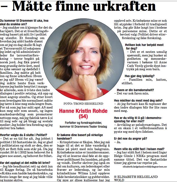 Hanne Kristin Rohde-dagsavisen-hannekristirohde.no