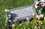 Resting place of a murder victim near Racine, Wis.