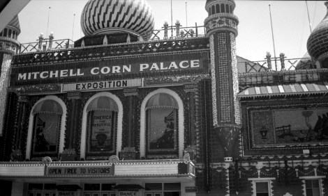 The Hannemans visited the Mitchell Corn Palace in Mitchell, S.D.