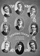 The best Lincoln High School had to offer, part of the 1914 debate team. Read more about the young men here: http://wp.me/p4FxQb-uq