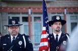 The Sun Prairie Police Department Honor Guard was on hand.