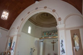 Interior of St. Patrick's Catholic Church in Askeaton.q
