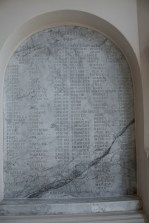 Donor roll of St. Patrick's in Askeaton.