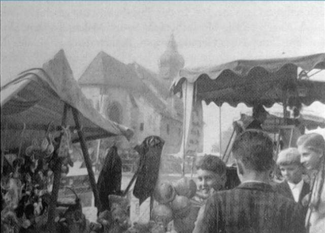 Kollmitzberger Kirtag historisch 1