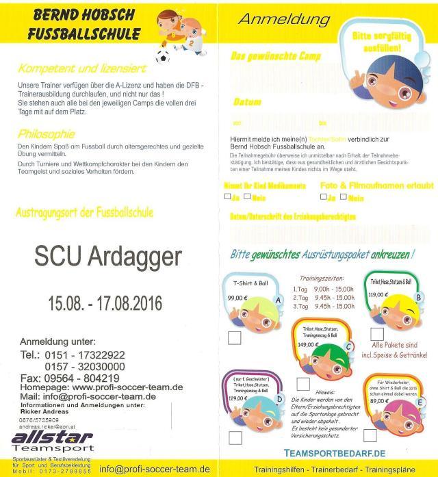 Anmeldung Profi Soccer Camp 2016-1