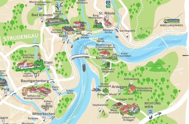 Sagenrundfahrt-Karte