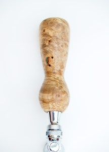 maple burl beer tap handle