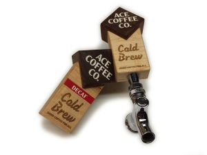 Coffee tap handle - coffee on tap