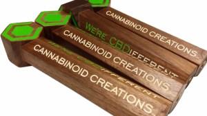 Cannabinoid Creations tap handles