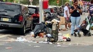 THANKS DE BLASIO! City Slashes Sanitation Pick-Ups 60%, Rotting Garbage Overflows on to Streets