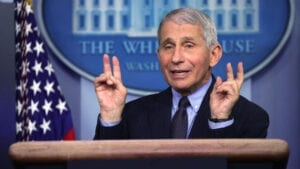 NOT YET: Dr. Fauci Says Americans Vaccinated Twice Should Still Avoid Restaurants, Movie Theaters