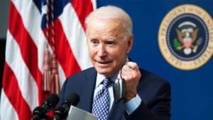 DOOM AND GLOOM: Biden Says 'Everything Not Fixed, Long Way to Go' as 50 Million Get the Vaccine