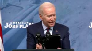 IT STARTS: Biden Says It's 'Not Rational' to Only Think of 'Highways and Bridges' as Infrastructure