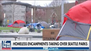 HOMELESS HIGH: Seattle Parents Rage as Local School Re-Opens Next to Massive Homeless Camp