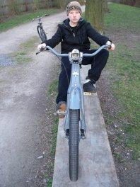 hannovercyclechic choppertraum in blaugrau 1