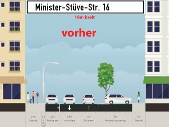 hannovercyclechic streetmix minister stueve strasse bisher