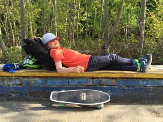 hannovercyclechic kleiner skater ganz schlapp