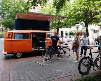 hannovercclechic PlatzDa! am 21.05. Mobile Fahrradwerkstatt